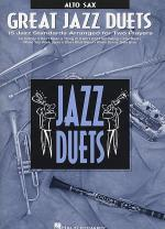 Great Jazz Duets (Alto Sax) Sheet Music