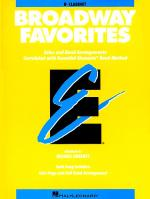 Broadway Favorites - Bb Clarinet Sheet Music