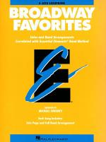 Broadway Favorites - Eb Alto Saxophone Sheet Music