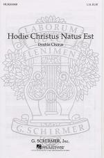 Hodie Christus Natus (Motet) Sheet Music