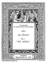 Prelude On Yoruba Folk Melodies No.1 K'A Mura Sheet Music