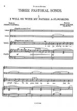 Three Pastoral Songs Op22 (Score/Parts) - High Voice Sheet Music