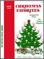 Christmas Favorites, Primer Sheet Music