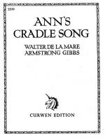 Armstrong Gibbs Ann's Cradle Song Voice/Piano Sheet Music