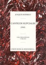 Joaquin Rodrigo: Canticos Nupciales Para Tres Sopranos Y Organo Sheet Music