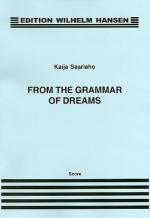 From The Grammar Of Dreams Sheet Music