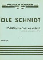 Symphonic Fantasy And Allegro Op.20 (Accordion/Piano) Sheet Music
