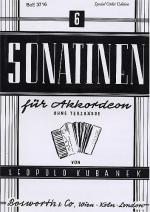 Sechs Sonatinen Fur Akkordeon Sheet Music