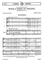 Shaw, M With A Voice Of Singing Sab/Organ Sheet Music