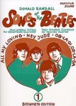 Songs Of The Beatles Vol.1 (Recorder Quartet) - Scores/Parts Sheet Music