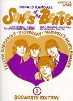 Songs Of The Beatles: 2 Sheet Music