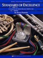 Standard Of Excellence: Comprehensive Band Method Book 2 (Piano/Guitar Acccompaniment) Sheet Music