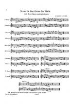 Scales And Arpeggios For Juniors (Violin) Sheet Music
