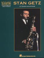 Artist Transcriptions For Tenor Saxophone Sheet Music