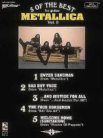 Metallica - 5 of the Best/Vol. 2* Sheet Music