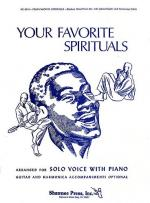 Your Favorite Spirituals - Volume 1 (Voice/ Piano) Sheet Music