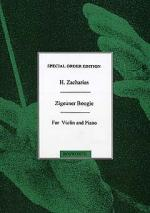 Zigeuner Boogie (Gypsy Boogie) For Violin And Piano Sheet Music