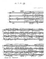 ning (Score And Parts) Sheet Music