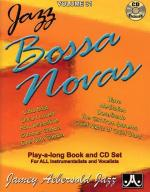 Jamey Aebersold Jazz Play Along: Volume 31 - Bossa Novas Sheet Music