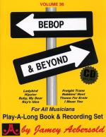 Jamey Aebersold Jazz Play Along: Volume 36 - Bebop and Beyond Sheet Music