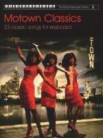 The Easy Keyboard Library: Motown Classics Sheet Music