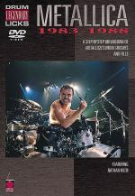 Legendary Drum Licks: Metallica 1983-1988 (DVD) Sheet Music