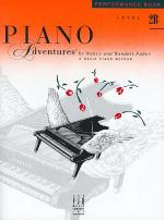 Piano Adventures Performance Book, Level 2B Sheet Music