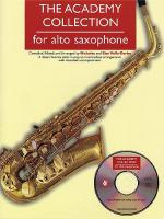 The Academy Collection: Alto Saxophone Sheet Music