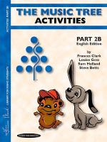The Music Tree: Activities Part 2B Sheet Music