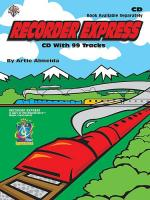 Recorder Express (CD) Sheet Music