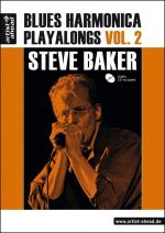 Steve Baker: Blues Harmonica Playalongs Volume 2 Sheet Music