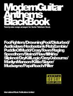 Modern Guitar Anthems: Black Book Sheet Music