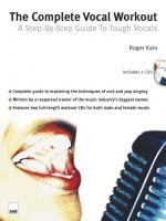 The Complete Vocal Workout: A Step-By-Step Guide To Tough Vocals Sheet Music