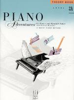 Piano Adventures Level 3A - Theory Book Sheet Music