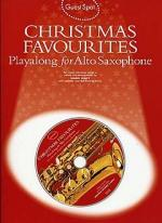 Guest Spot: Christmas Favourites Playalong For Alto Saxophone Sheet Music