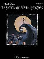 Tim Burton: The Nightmare Before Christmas Sheet Music