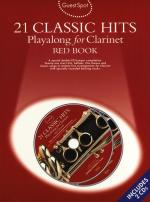 Guest Spot: 21 Classic Hits Playalong For Clarinet - Red Book Sheet Music