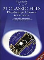 Guest Spot: 21 Classic Hits Playalong For Clarinet - Blue Book Sheet Music