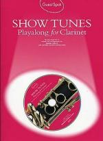 Guest Spot: Show Tunes Playalong For Clarinet Sheet Music