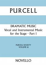 Purcell Society Volume 16 - Dramatic Music Part 1 (Full Score) Sheet Music