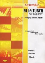 W.A. Mozart: Alla Turca (Score/Parts) Sheet Music