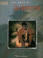 The Best Of Joe Henderson - Artist Transcriptions Sheet Music