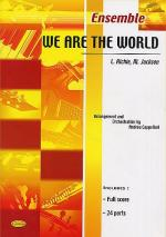 L. Richie/M. Jackson: We Are The World (Score/Parts) Sheet Music