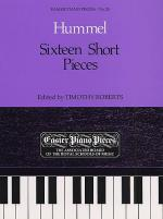 Sixteen Short Pieces Sheet Music