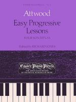Easy Progressive Lessons - Four Sonatinas Sheet Music
