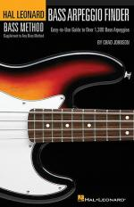 Hal Leonard Bass Method: Bass Arpeggio Finder (Small Format) Sheet Music