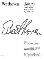 Beethoven: Sonata In G Minor Op.49 No.1 Sheet Music