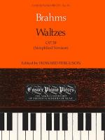 Waltzes Op.39 (Simplified Version) Sheet Music