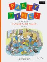 Party Time! 15 Party Pieces For Clarinet And Piano Sheet Music