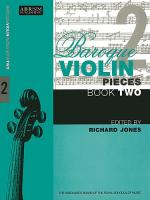 Baroque Violin Pieces Book 2 Sheet Music
